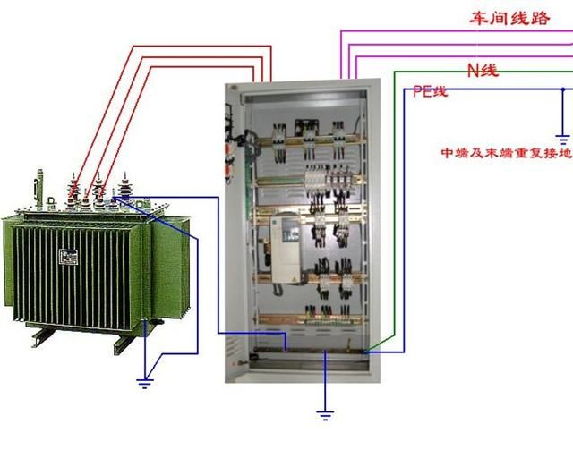 断路器,接触器控制回路,电动机,热电偶,电能表等相关设备接线图,由浅