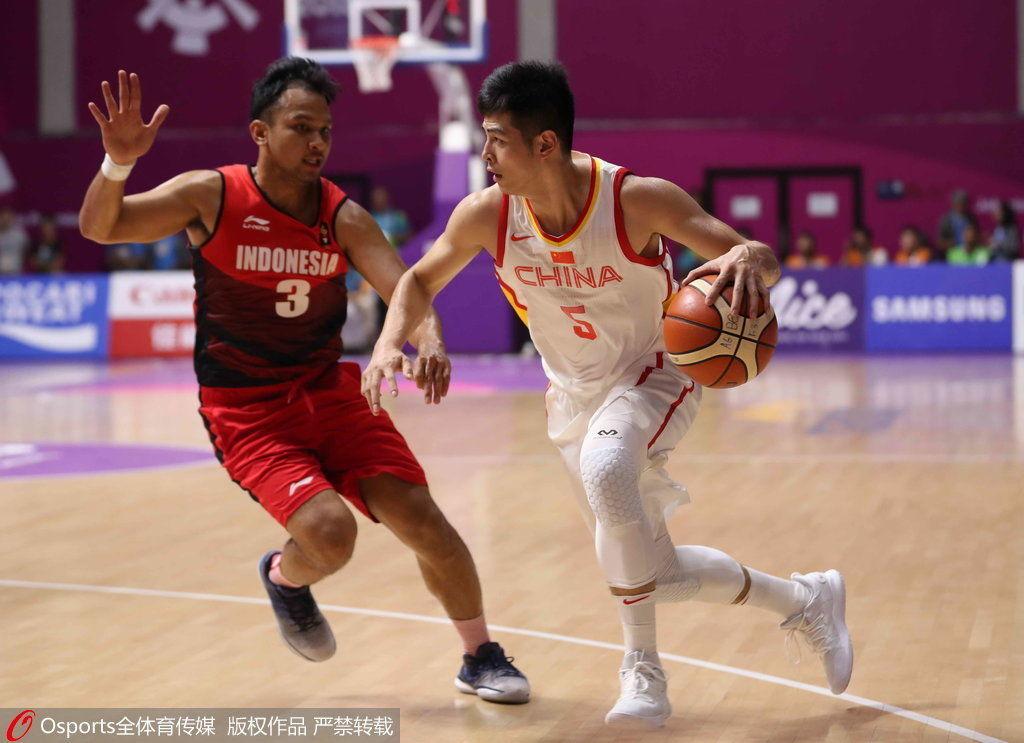 中国男篮vs印尼录像