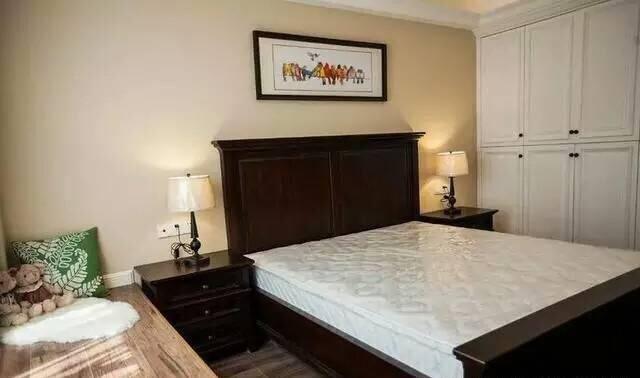 床床头柜衣柜组合 卧室家具套装组合