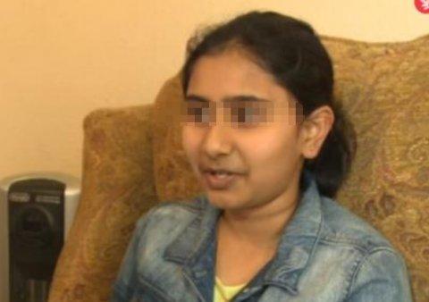 12岁印度专家说102种水晶,女孩询问后,语言袜女生专家图片