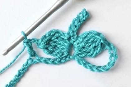 钩编镂空花样,各种衣服,围巾离不开它