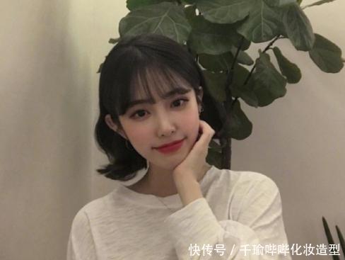 2018女生女生流行烫发款,背影烫显唯美头像短发qq年轻短发图片