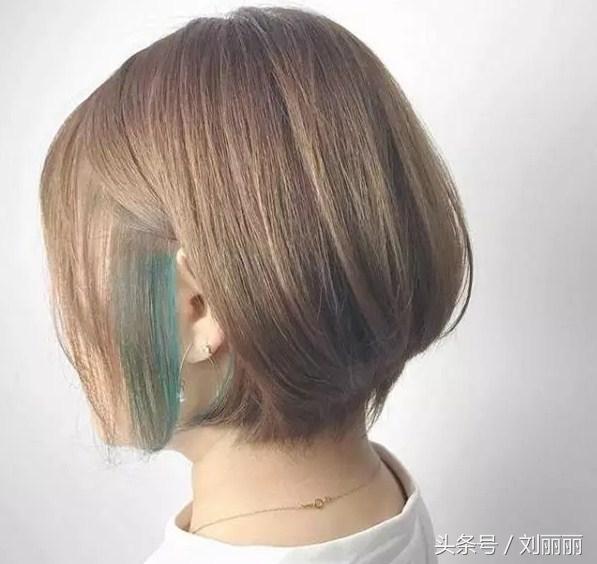 春节最修饰短发头型20款,美到逆天侧分超短发女图片