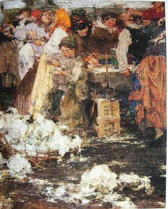 俄罗斯当代最天才的画家尼古拉费欣油画作品欣赏