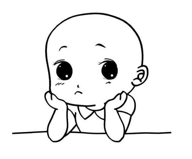 动漫 简笔画 卡通 漫画 手绘 头像 线稿 640_532