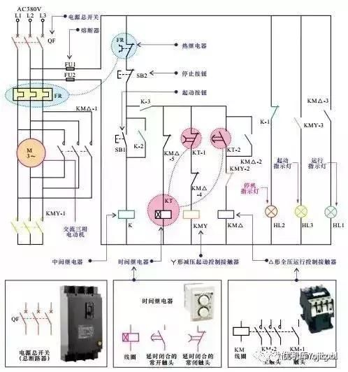 电动机常用控制电路知识集合,值得收藏