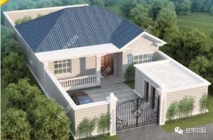 江苏9万自建中式小合院,2万工钱房子院子全建好?真的羡慕坏了图片