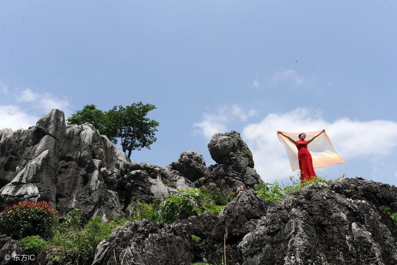怪石林风景区,其范围之广,景观之美堪称我国石林之最,这里奇石遍布