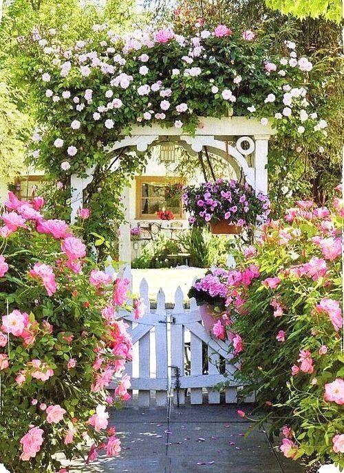 """15个""""花园式院子""""设计案例,在院落赏花,听雨,喝咖啡!"""