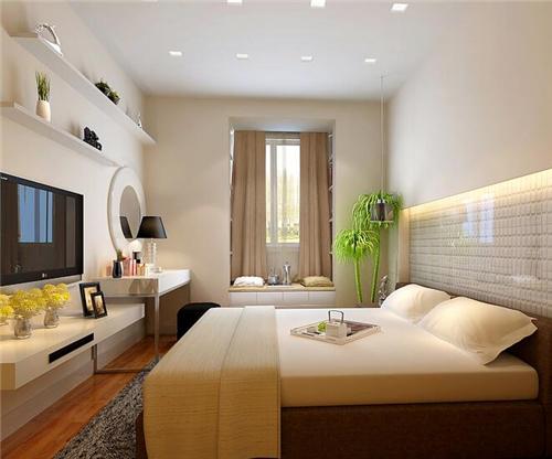 宝鸡家装公司:房屋整体装修效果图 简约风格时尚温馨两居室
