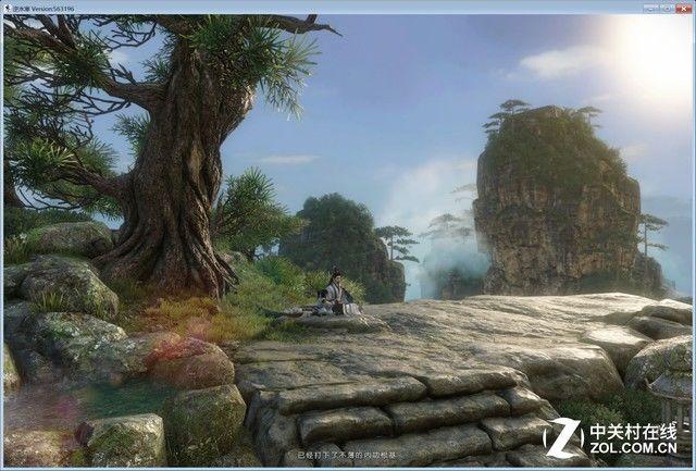 就画面程度来看的话,《逆水寒》这款游戏的画面质量还是有一说一的图片