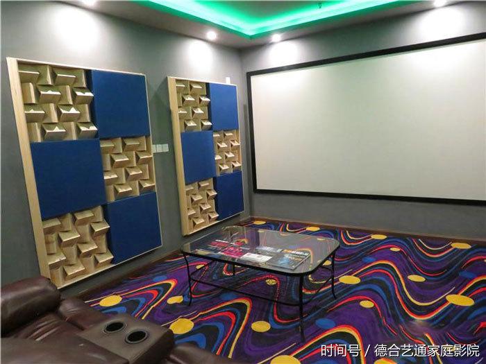 北京城南别墅区小空间家庭影院价格别墅案例新楼盘白城图片