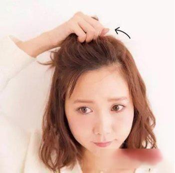 图片太热可扎无刘海天气头发型!辫子小宝宝扎图片大全大全短发丸子大全图片发型图片图片