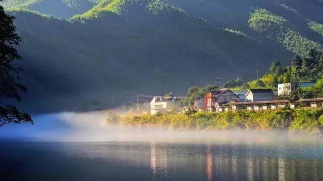 皖南乡村秋天风景图片
