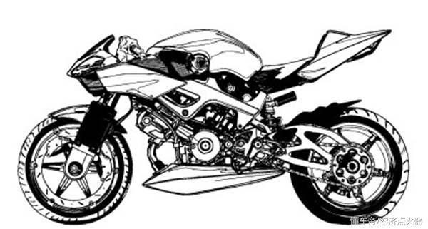 """摩托车结构""""人车合一""""分析法!"""