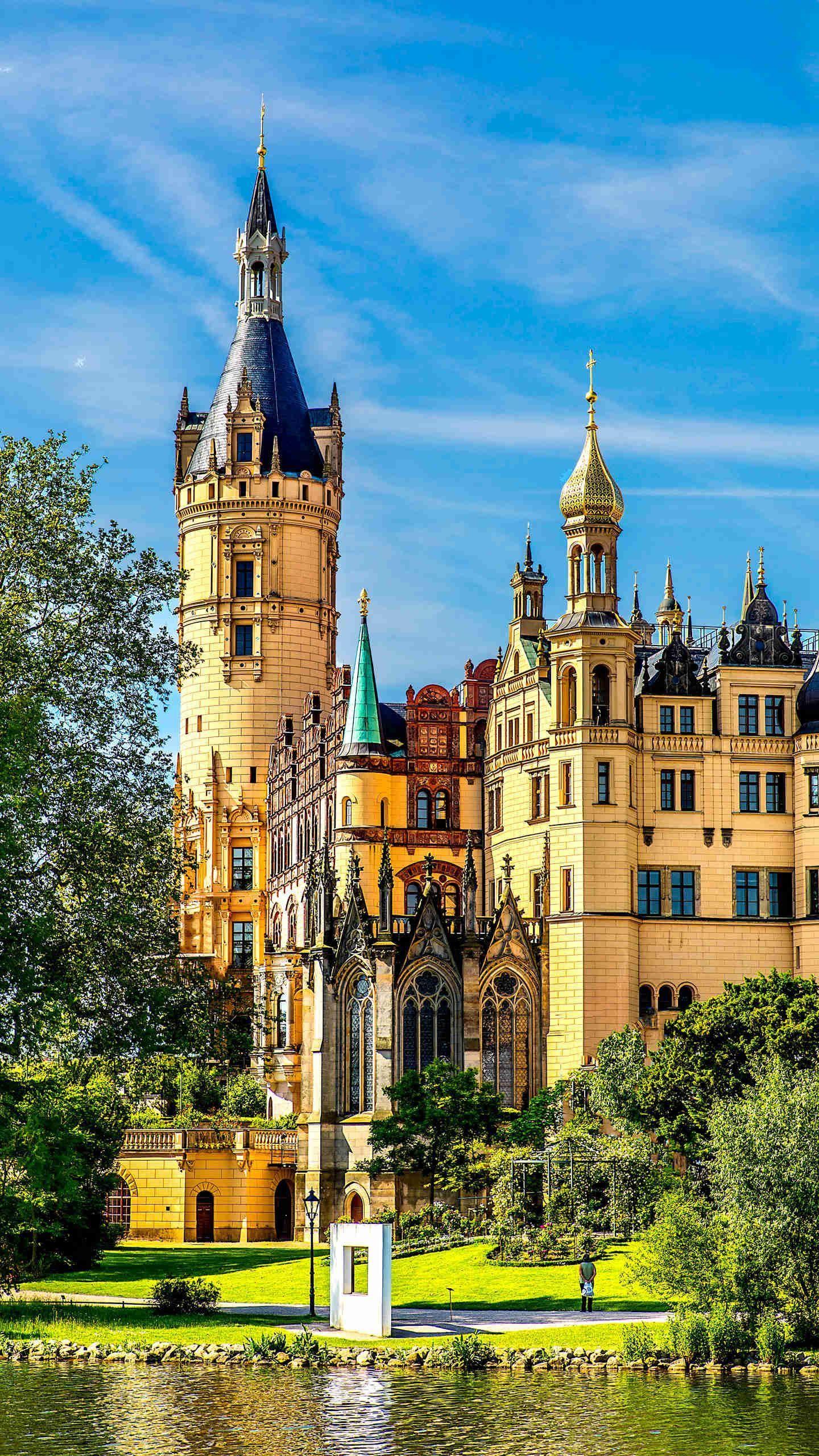 来到德国,城市风景美不胜收,现实版童话世界,又该是哪座城堡