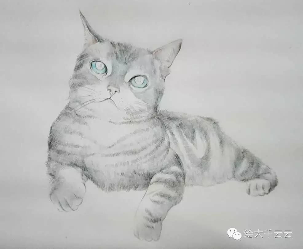 双世宠妃彩铅手绘图片