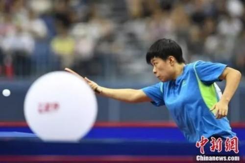 9月6日,天津武清体育中心体育馆,第十三届全运会男子乒乓球半决赛