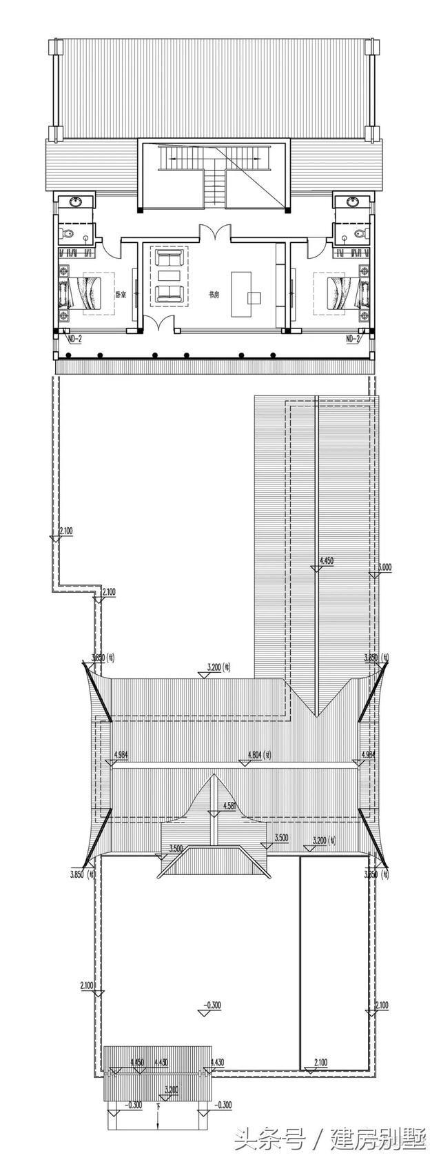 1536米四合院设计,传承传统的精髓,迎接古朴纯真的生活