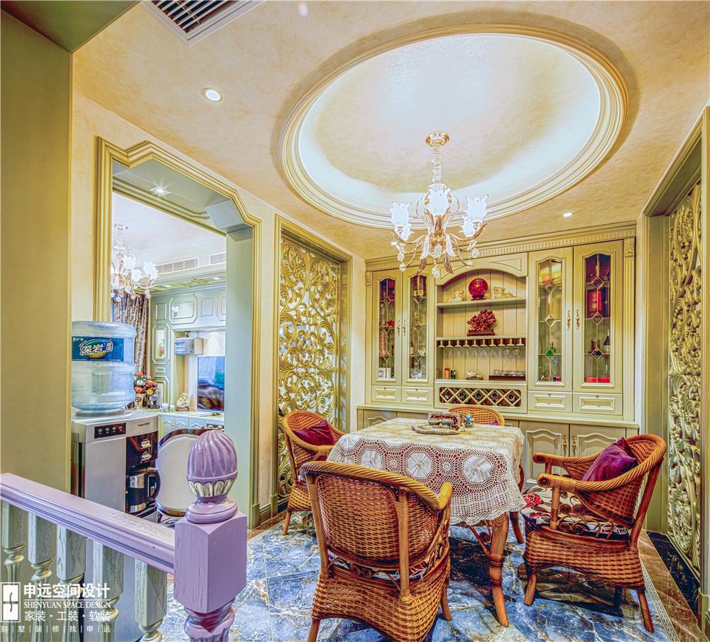 申远空间设计别墅设计浪漫欧式风格介绍