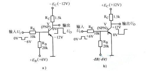 振荡电路,这个电路可以通过瞬时极性法进行分析,两个三极管放大电路相