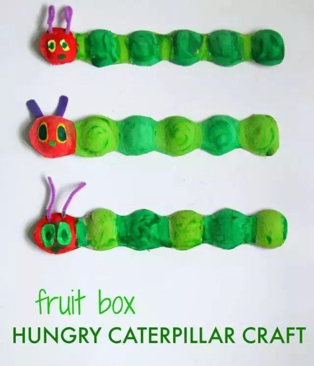 【手工】幼儿园环保类,非常可爱的幼儿手工,跟孩子一起做吧!