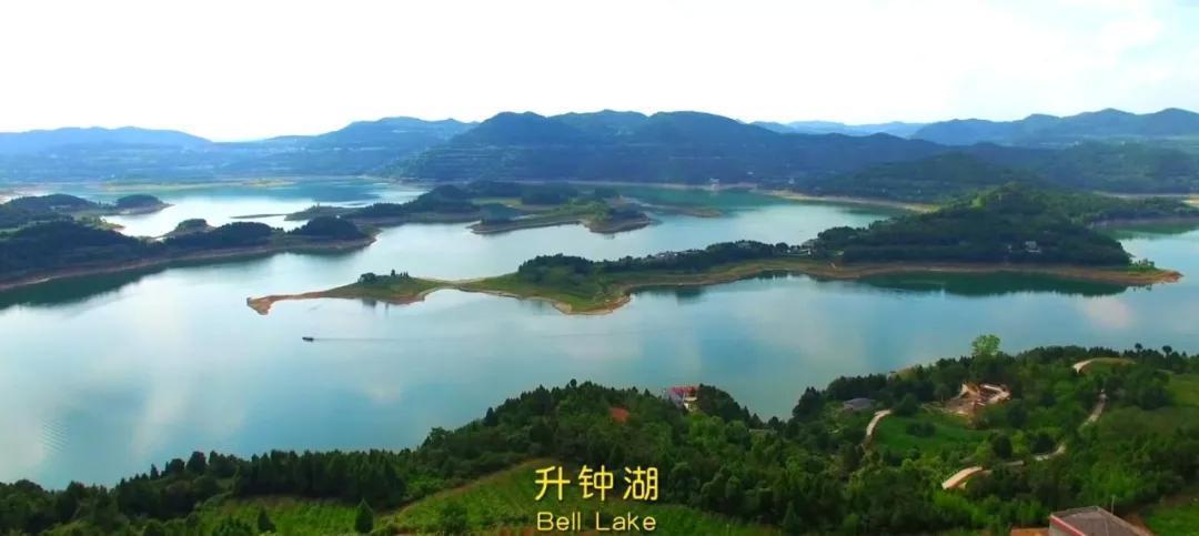 四川南充秋天风景照片