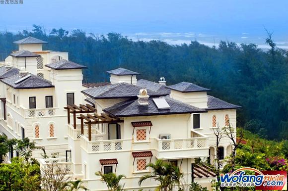世茂怒放海双拼独栋别墅在售 总价低至170万/套