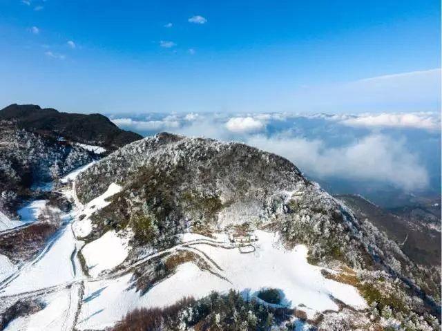 宜昌最新賞雪地圖新鮮出爐,在詩畫之城邂逅下雪的冬天