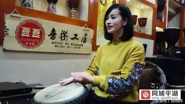 丽江鼓手夏夏因为一段我的小宝贝视频而红遍网络,网友们还专门找了夏图片