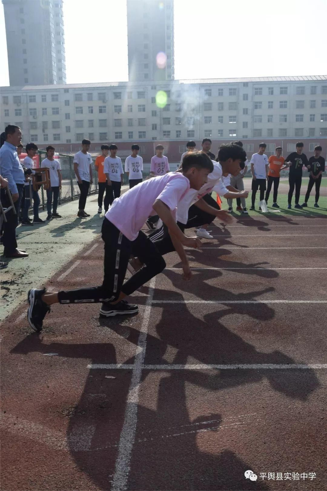 v中学中学高中部2018春季田径运动隆重开幕最好高中安庆的图片