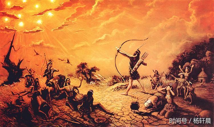 第十三神:后羿射日图片