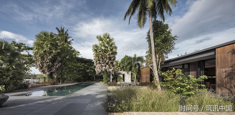 筑讯v河流:拥有广阔河流全景的别墅私家,房前的青岛联排别墅维拉图片