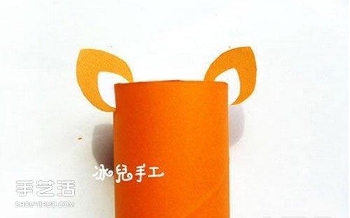 幼儿园老虎手工制作教程 卷纸筒老虎怎么做图解