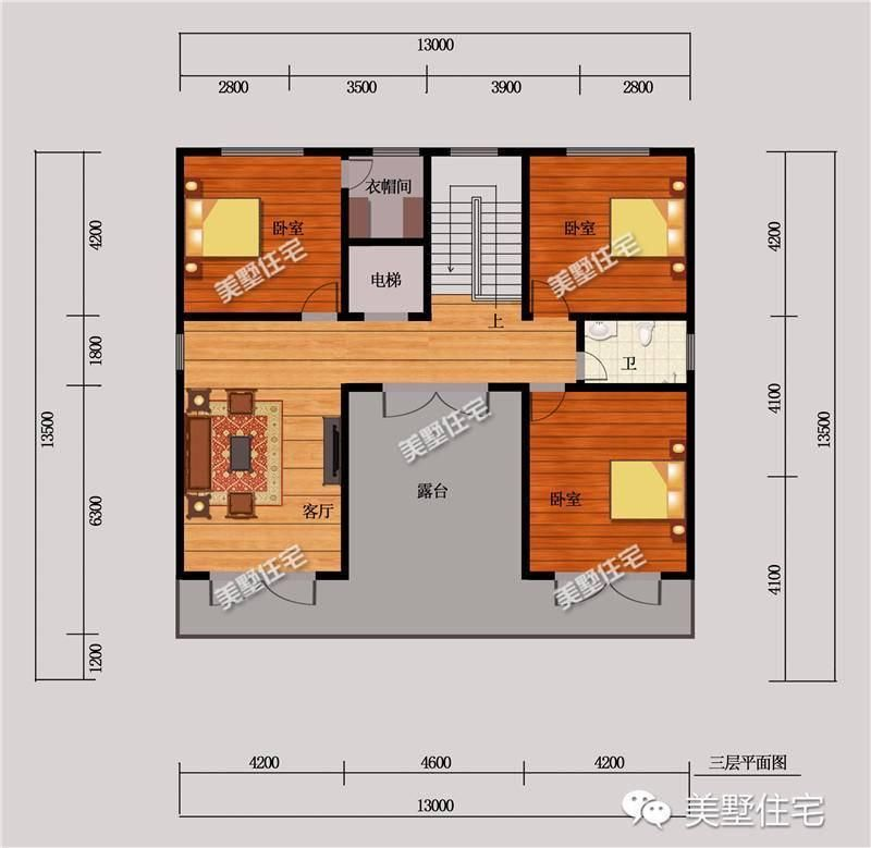 整栋别墅,是典型的欧式风格设计,外观精致华美.