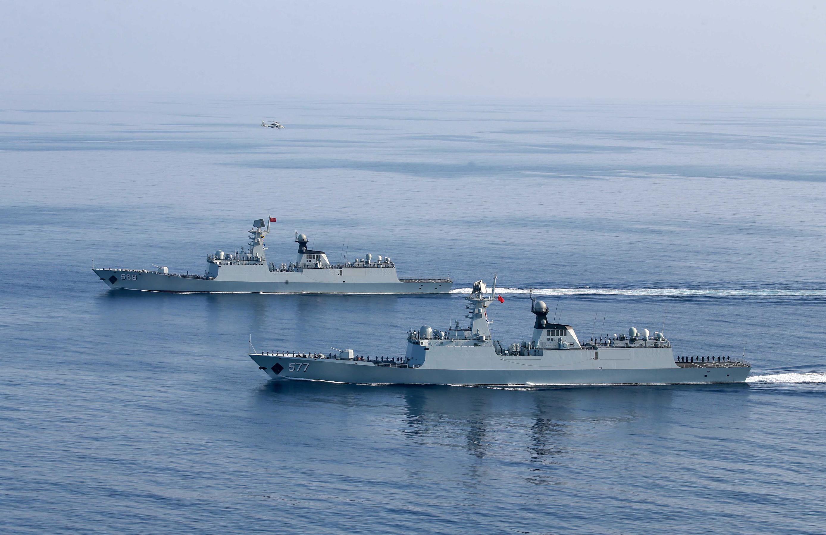 第二十六批护航编队正式开始护航