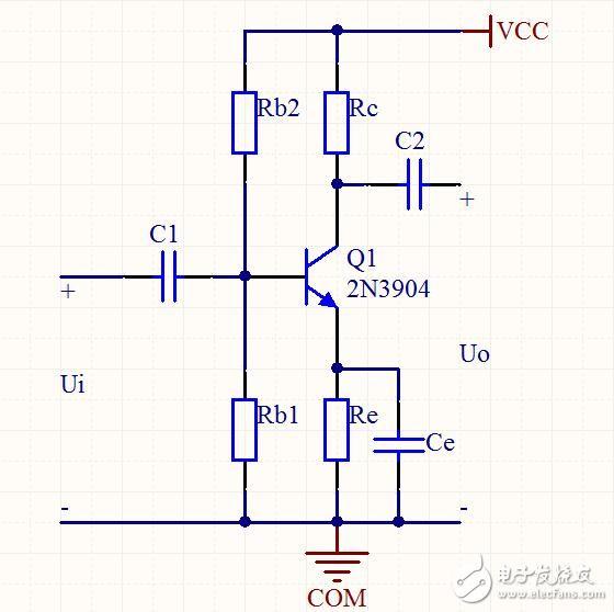 电容反馈式振荡电路将 lc振荡电路 两个电容的三个端分别接晶体管的