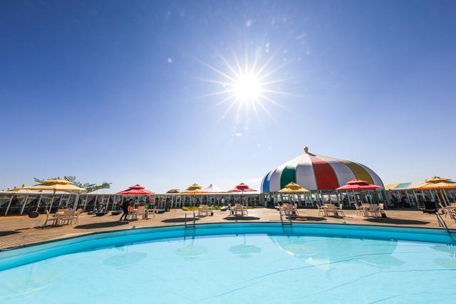 福沙之岛酷似外星基地的蒙古度假村