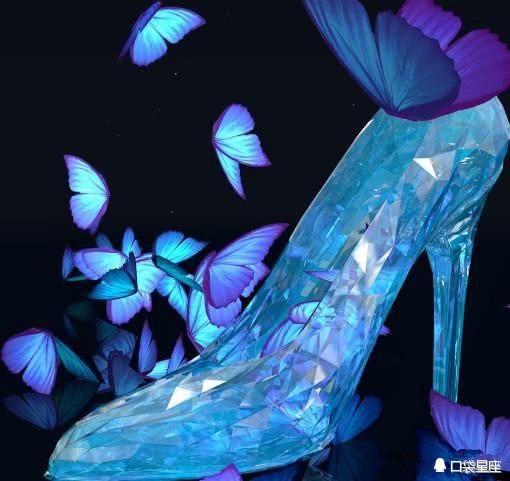 十二星座的专属水晶鞋,摩羯射手,句子迷倒众人写射手座的高贵图片