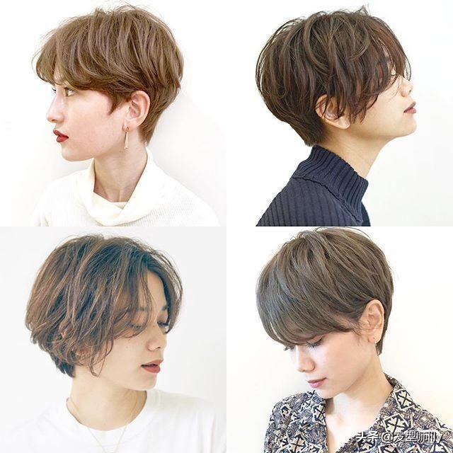 """30款""""立体短发""""2019短发流行趋势,想剪短发,看过来!图片"""