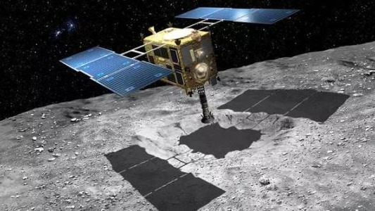 """""""隼鸟2号""""携小行星岩石碎片启程返回地球"""