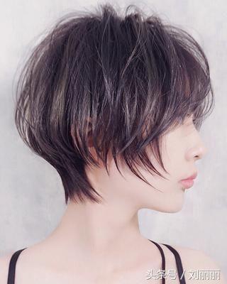 春节最修饰头型短发20款,美到逆天挑染头发颜色会晕染图片