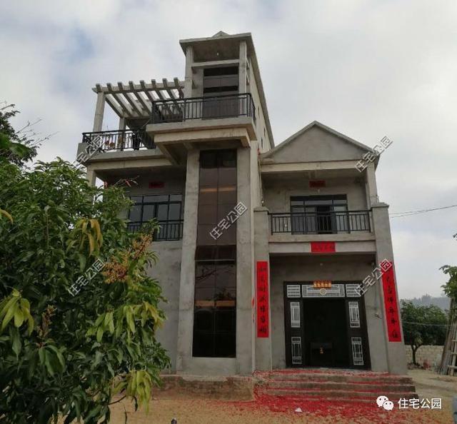 郑州一别墅盖别墅被农村逼停,几年后一层平房最台风贵在哪海南图片