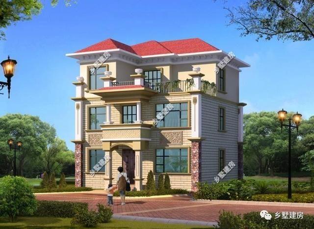 看完这套农村中式别墅,45万560平,有宅基地的坐不住了