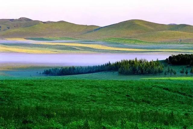 天然名苑 --塞罕坝国家森林公园 --御道口草原森林风景区 第三段:从