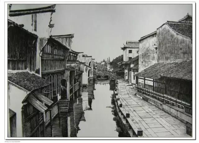 中国著名钢笔画艺术家,中国侗乡钢笔画第一人,中国风雨桥钢笔画传承人