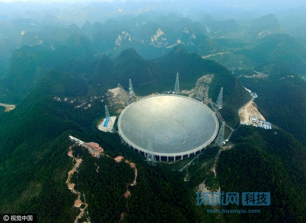 """中国""""天眼""""即将竣工,世界上最大射电望远镜到底有多牛"""