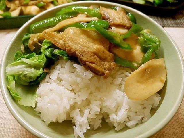 给女孩子的菜谱:杏鲍菇炒肉鱼籽炒菜图片
