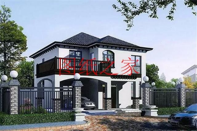 7x7米小别墅设计图
