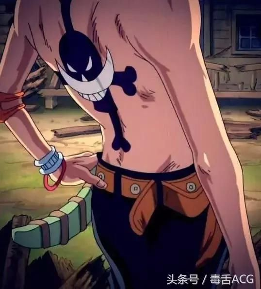 jump最帅死法的角色:海贼王艾斯是我永远的痛图片